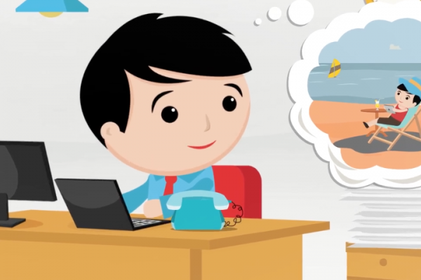 Animated explainer video Telserv
