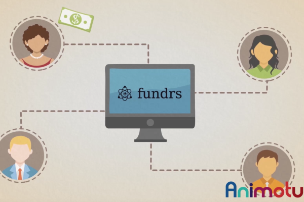 Animated explainer video Fundrs